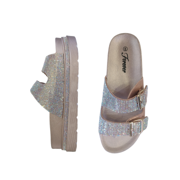Great 65 R-Gold  Double Strap Slip-on